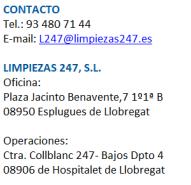 Empresa de limpieza en Esplugues de Llobregat